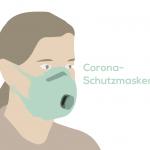 Schutzmasken gegen Corona